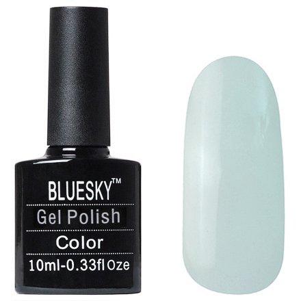 Bluesky, Флуоресцентный 008Bluesky 10 мл<br>Гель-лак светло-голубой оттенок, полупрозрачный, светится в темноте.<br>