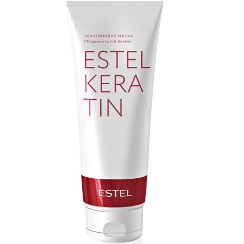 Estel, Кератиновая маска KERATIN, 250 млВсе средства<br>Комплекс с кератином, входящий в состав маски, глубоко проникает в волокно волос, обеспечивая интенсивную регенерацию изнутри<br>