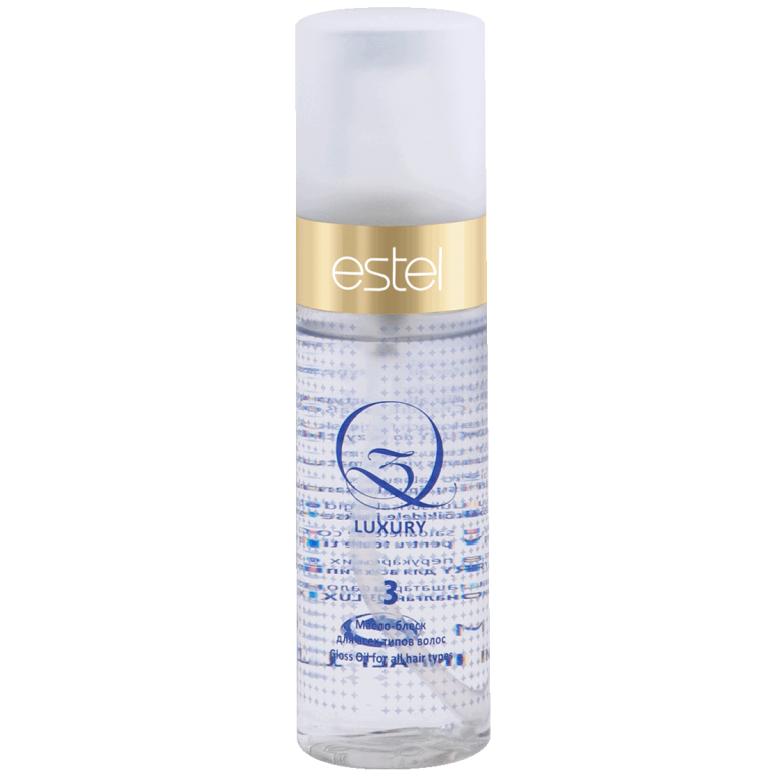 Estel, Масло-блеск Q3 LUXURY, для всех типов волос, 100 млВсе средства<br>Великолепный блеск и шелковистость. Термозащита волос.<br>
