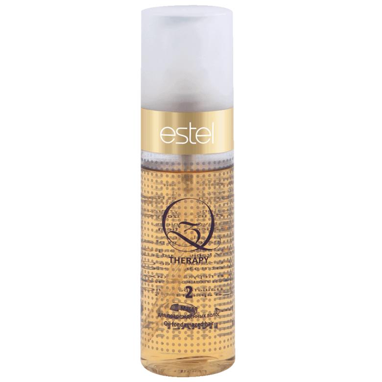 Estel, Масло Q3 THERAPY, для поврежденных волос, 100 млВсе средства<br>Обеспечивает интенсивное питание, увеличивает плотность волоса, восстанавливает поврежденную структуру<br>