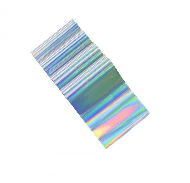 IM, Фольга отрывная (серебряный, голографический) 1 метр (IM (Китай))
