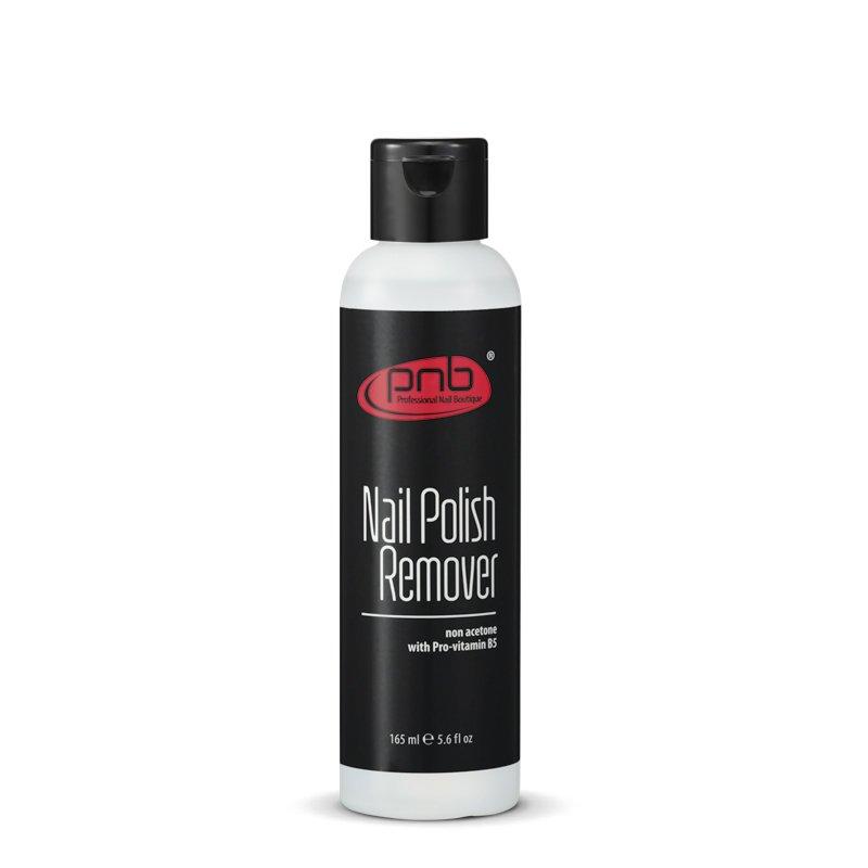 PNB, Nail Polish Remover - Средство для снятия лака без ацетона (165 мл).Жидкости для снятия<br>Средство для снятия лака без содержания ацетона с витамином B5.<br>