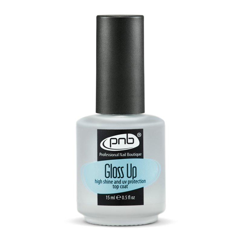 PNB, Gloss Up - Верхнее покрытие для чрезвычайно яркого блеска (15 мл). (PNB (США))