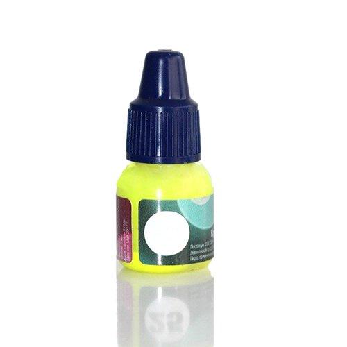 AIRnails, Краска для аэрографии NEON (желтый), 5млКраски для аэрографа<br>Краски предназначены для художественной росписи ногтей с помощью аэрографа<br>