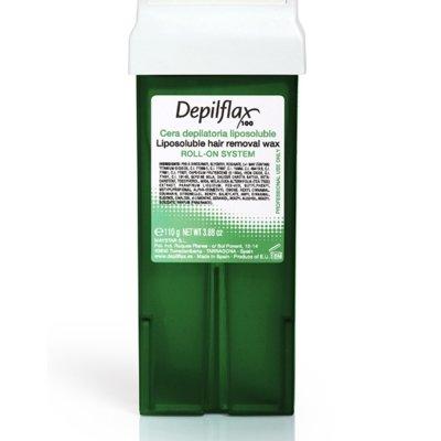 Depilflax, Воск для депиляции в картридже - АЛОЕ ВЕРА (110гр.)Воск в картриджах<br>Воск прозрачный, для сухой и чувствительной кожи.Обладает сильным регенерирующим и противовоспалительным действием<br>