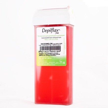 Depilflax, Воск для депиляции в картридже - АРБУЗ (110гр.)