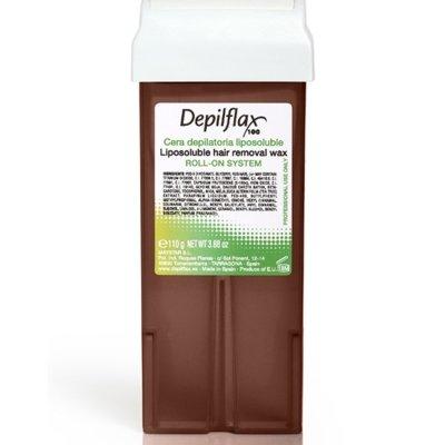 Depilflax, Воск для депиляции в картридже - ШОКОЛАД (110гр.)