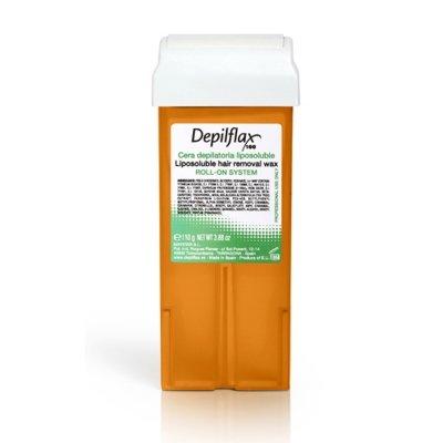 Depilflax, Воск для депиляции в картридже - МОРКОВЬ (110гр.)Воск в картриджах<br>Плотный воск высокого качества, рекомендованный для загорелой кожи.Обладает антивозрастной формулой<br>