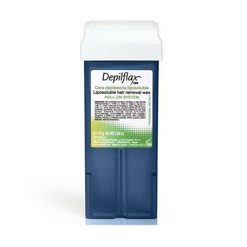 Depilflax, Воск для депиляции в картридже - СИНИЙ (110гр.)Воск в картриджах<br>Воск среднейплотности,для чувствительнойкожи.Обладает противовоспалительными и противоаллергенными свойствами<br>