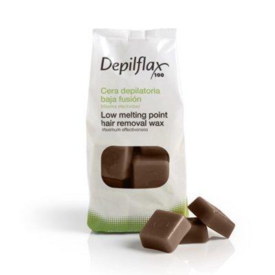 Depilflax, Горячий воск для депиляции в брикетах - Шоколад (1 кг)Горячий воск<br>Подходит для любого типа волос, обладаетуспокаивающим, тонизирующим и увлажняющим свойством.Имеет приятный шоколадный аромат<br>
