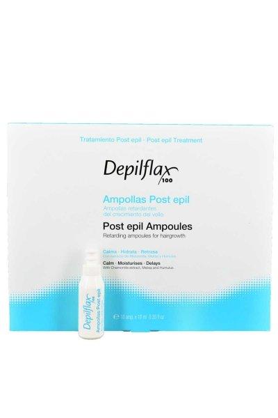 Depilflax, Лосьон замедляющий рост волос после депиляцииСопутствующие материалы<br>Лосьон в ампулах (10 шт по 10 мл) оказывает смягчающее, успокаивающее, увлажняющее действие<br>