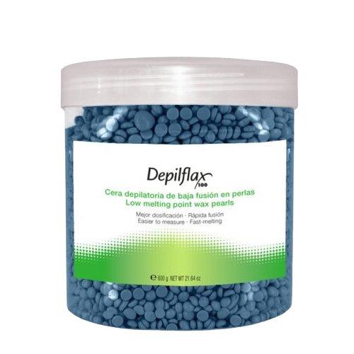 Depilflax, Горячий воск для депиляции в гранулах - Азуленовый (600 гр)
