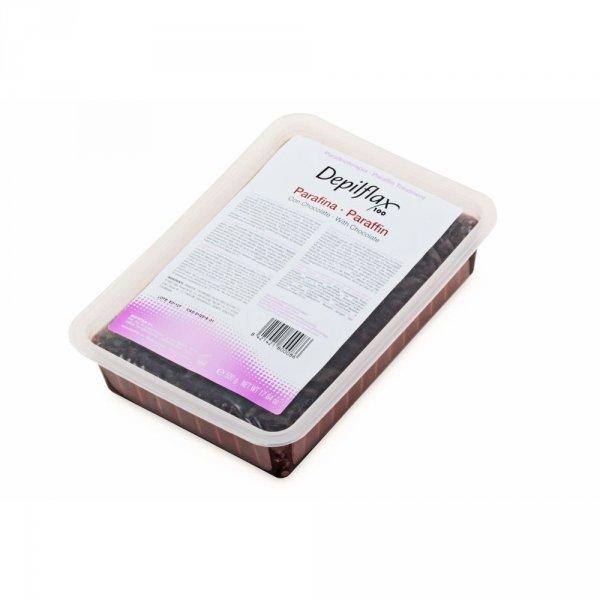 Depilflax, Парафин косметический - шоколад (500 гр)Парафин<br>Парафин обладает противовоспалительными свойствами и действует как антиоксидант<br>