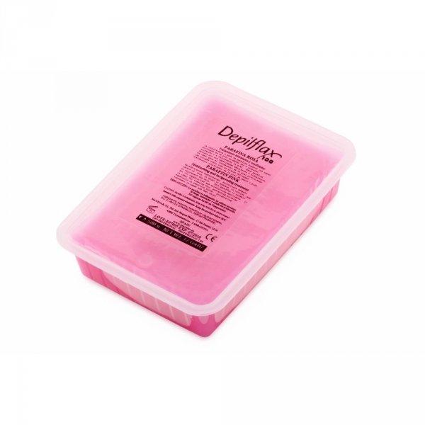 Depilflax, Парафин косметический - роза (500 гр)Парафин<br>Рекомендован для сухой, обветренной кожи рук и потрескавшейся кожи ног<br>