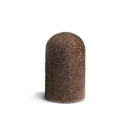 ruNail, Колпачок абразивный, 7*13 мм, 80 грит Арт. 1434Абразивные колпачки и насадки-основы<br>Упаковка 5 шт.<br>