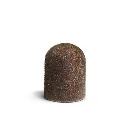 ruNail, Колпачок абразивный, 13*19 мм, 80 грит Арт. 1440Абразивные колпачки и фрезы-основы<br>Упаковка 5 шт.<br>