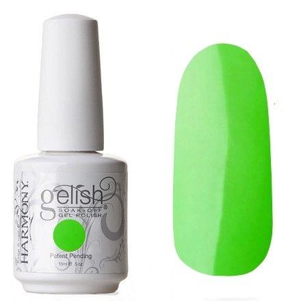 Гель-лак для ногтей Gelish (01473 Amazon Flirt) 15 млHarmony Gelish<br>Ярко-зеленый, неоновыйКоллекция RIO<br>