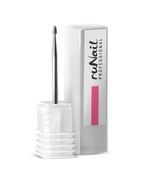 ruNail, Бор твердосплавный 1,6*3мм Арт. 1417Твердосплавные насадки<br>Бор для работы по коже, натуральным и искусственным ногтям.<br>
