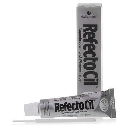 Refectocil, Краска для бровей, ресниц №1.1 (графит)Краска для бровей и ресниц<br>Краска предназначена для окрашивания седых или мелированных волос<br>