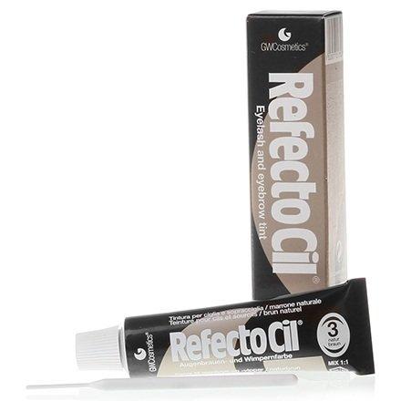 Refectocil, Краска для бровей, ресниц №3 (коричневая) (Refectocil (Австрия))