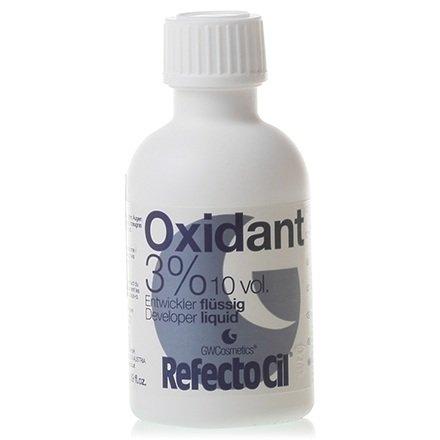 Refectocil, Оксидант для разведения краски 3%, 50 млКраска для бровей и ресниц<br>Жидкий оксидант, разработан специально для использования краски для ресниц и бровей RefectoCil<br>
