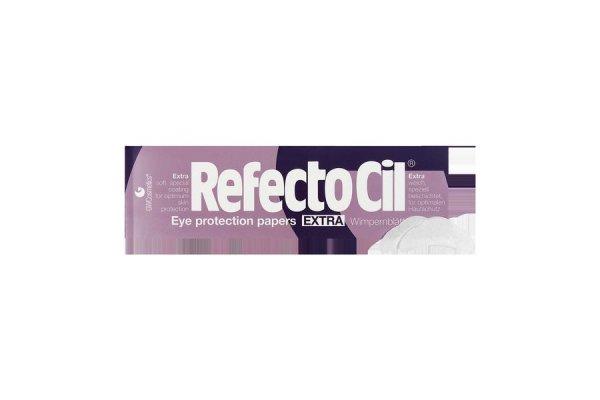 Refectocil, Cалфетки под ресницы Extra, 80 шт.Инструменты, кисти, салфетки<br>Салфетки под ресницы Refectocil Extra непромокаемые, покрытые пленкой 80шт./1уп.<br>