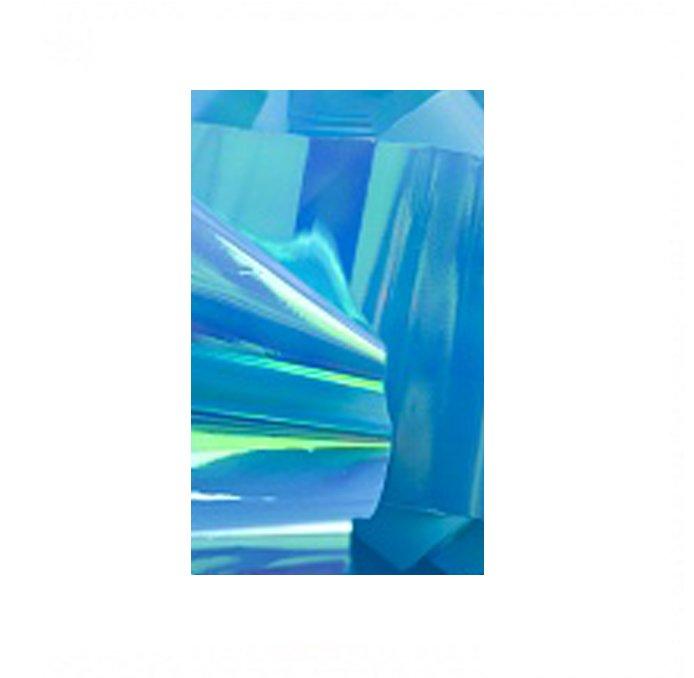 Bluesky, Дизайн - Битое стекло (Dark Blue)Фольга отрывная<br>Голографический декор для маникюра Битое стекло.<br>