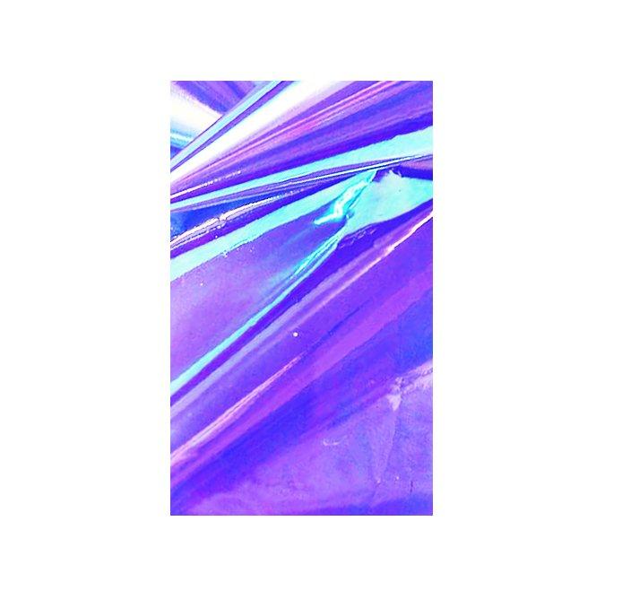 Bluesky, Дизайн Битое стекло (Purple)Фольга отрывная<br>Голографический декор для маникюра Битое стекло.<br>