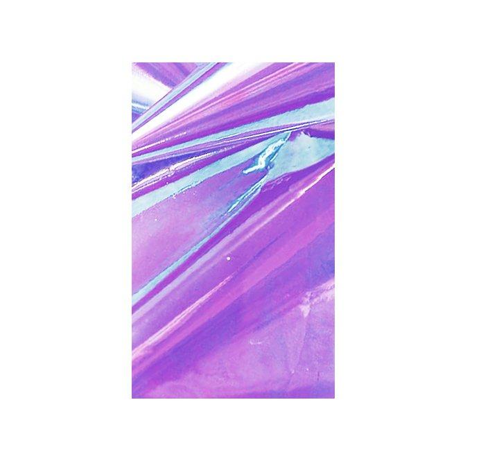 Bluesky, Дизайн - Битое стекло (Violet)Фольга отрывная<br>Голографический декор для маникюра Битое стекло.<br>
