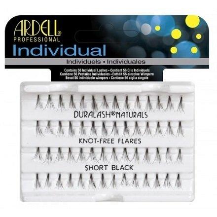 Ardell, Пучки ресниц безузелковые короткие чёрныеНаращивание для ресниц<br>Высококачественные и гипоаллергенные пучки ресниц, короткие<br>