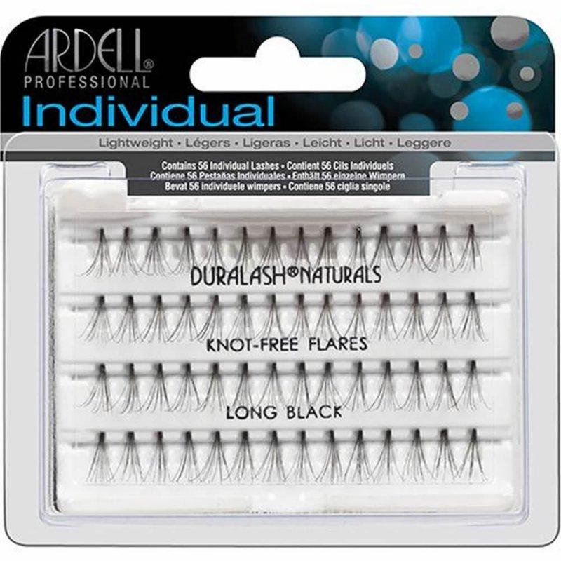 Ardell, Пучки ресниц безузелковые длинные чёрныеНаращивание для ресниц<br>Высококачественные и гипоаллергенные пучки ресниц, длинные<br>