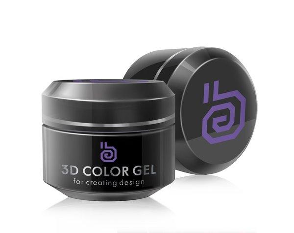 ruNail, 3D гель (Фиолетовый, Violet), 5 г3D гель для лепки RuNail<br>3D гели позволяют выполнять объемные дизайны любой степени сложности, без липкого слоя.<br>