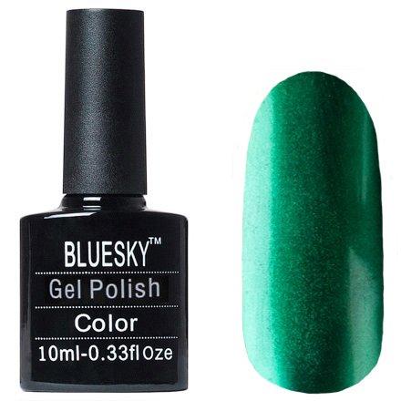 Bluesky Gel Polish, МT08Bluesky 10 мл<br>Гель-лак с металлическим эффектом изумрудный оттенок, плотный.<br>