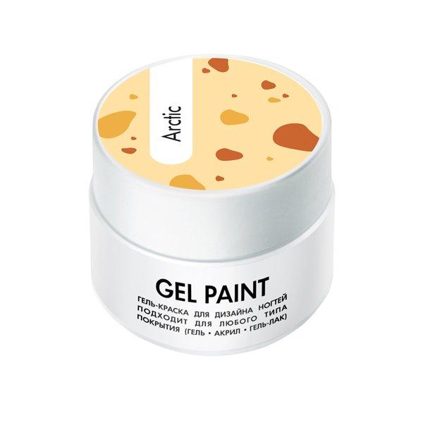 ruNail, Гель-краска (классическая, Арктика, Arctic), 7,5 г, банкаГель краски RuNail<br>Гель-краска для художественной росписи и плоскостного дизайна ногтей, а также создания оригинального френча.<br>