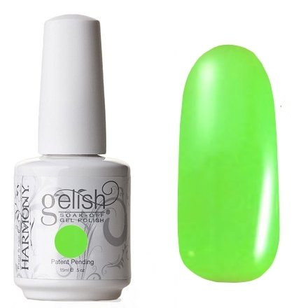 01554 Sometimes A Girls Gotta Glow Harmony GelishHarmony Gelish<br>Кислотный зеленыйКоллекция All About The Glow<br>
