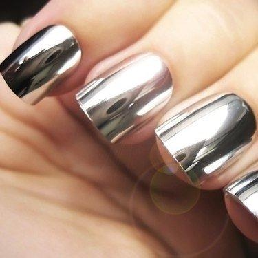 NelTes, Зеркальная втирка для ногтей (хром)Зеркальная втирка<br>Зеркальная втирка для ногтей, цвет хром (0.5г)<br>