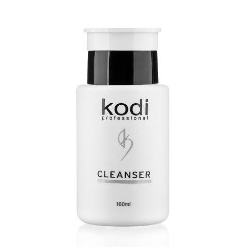 Kodi, Cleanser - Жидкость для снятия липкого слоя (160ml)Kodi Professional <br>Жидкость для снятия липкого слоя, 160 мл.<br>