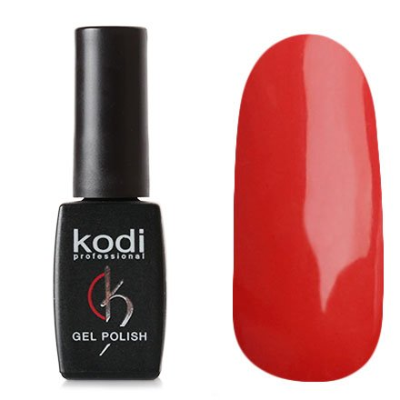 Kodi, Гель-лак № 10 (8ml)Kodi Professional <br>Гель-лак коралловый, плотный, 8мл.<br>