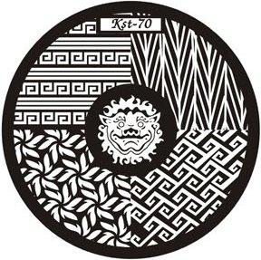 El Corazon, Диск для стемпинга №kst-70Диски для стемпинга El Corazon<br>Печатная формаkst-70<br>