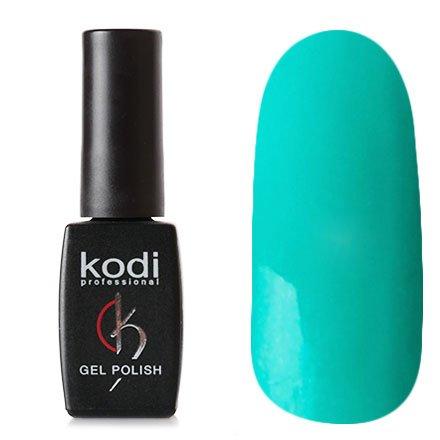 Kodi, Гель-лак № 18 (8ml)Kodi Professional <br>Гель-лак бирюзовый с микроблестками, плотный, 7мл.<br>