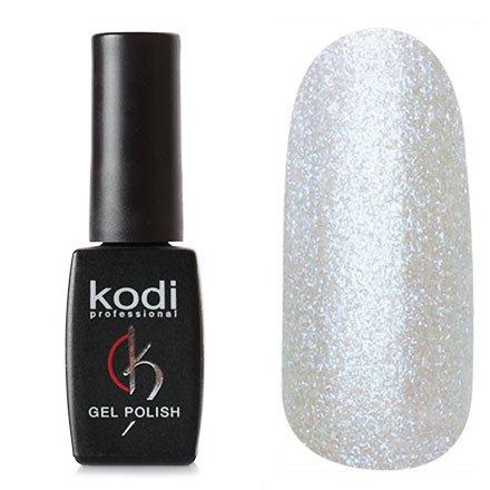 Kodi, Гель-лак № 116 (8ml)Kodi Professional <br>Гель-лак белый перламутр с блестками, плотный, 8мл.<br>