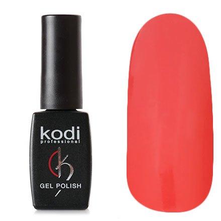 Kodi, Гель-лак № 122 (7ml)Kodi Professional <br>Гель-лак насыщенный розово-лососевый, без блесток и перламутра, плотный,7мл.<br>