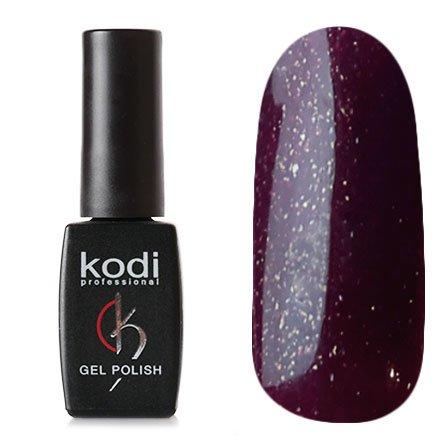 Kodi, Гель-лак №35 (8ml)Kodi Professional <br>Гель-лак темно-сливовый с красными и золотыми блестками, плотный, 8мл.<br>