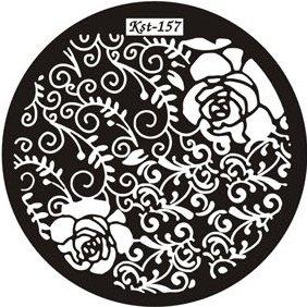 El Corazon, Диск для стемпинга №kst-157Диски для стемпинга El Corazon<br>Печатная формаkst-157<br>