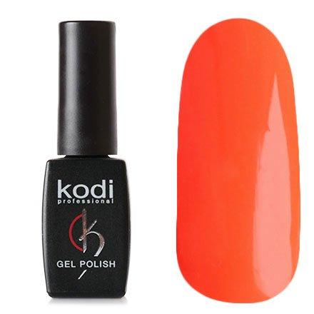 Kodi, Гель-лак № 77 (8ml)Kodi Professional <br>Гель-лак неоново-оранжевый, плотный, 8мл.<br>