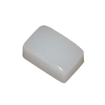El Corazon, Подушечка сменная для штампа (белая) 1,6 x 2,7 смИнструменты и Аксессуары El Corazon<br>Силиконовая сменная подушечка для штампов.<br>