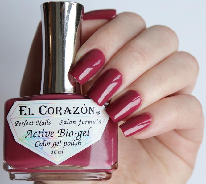 El Corazon, Active Bio-gel Color gel polish Cream №423-318Лечебный биогель El Corazon<br>Био-гельрозово-коричневый, без блесток и перламутра, плотный. Объем 16 ml.<br>