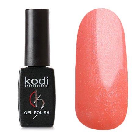 Kodi, Гель-лак № 80 (8ml)Kodi Professional <br>Гель-лак розово-оранжевый с перламутром и микроблестками, плотный, 8мл.<br>