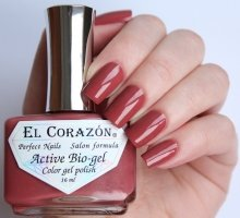 El Corazon, Active Bio-gel Color gel polish Cream №423/323