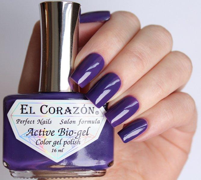 El Corazon, Active Bio-gel Color gel polish Cream №423/326Лечебный биогель El Corazon<br>Био-гельсиний, без блесток и перламутра, плотный. Объем 16 ml.<br>